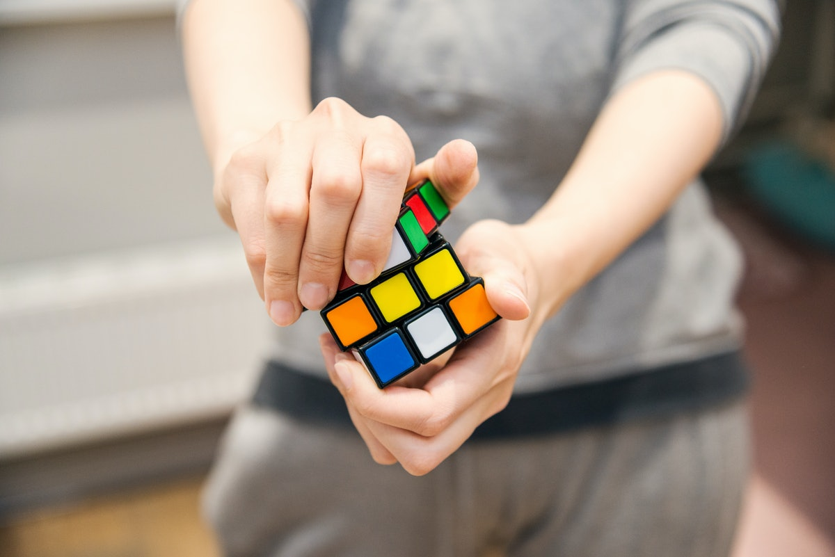 Speedcubing is solving a Rubik's Cube as quickly as possible.