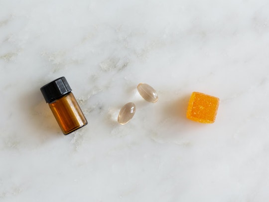 CBD Edible Tincture and Capsule