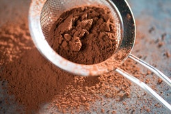 Cocoa powder sweet ingredient