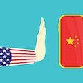 america banned china smartphone background