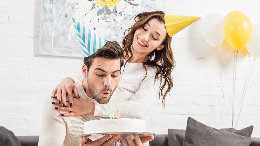 These Instagram captions for your partner's Zoom birthday party are fun and festive.