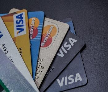 Credit Card, Visa, Master Card