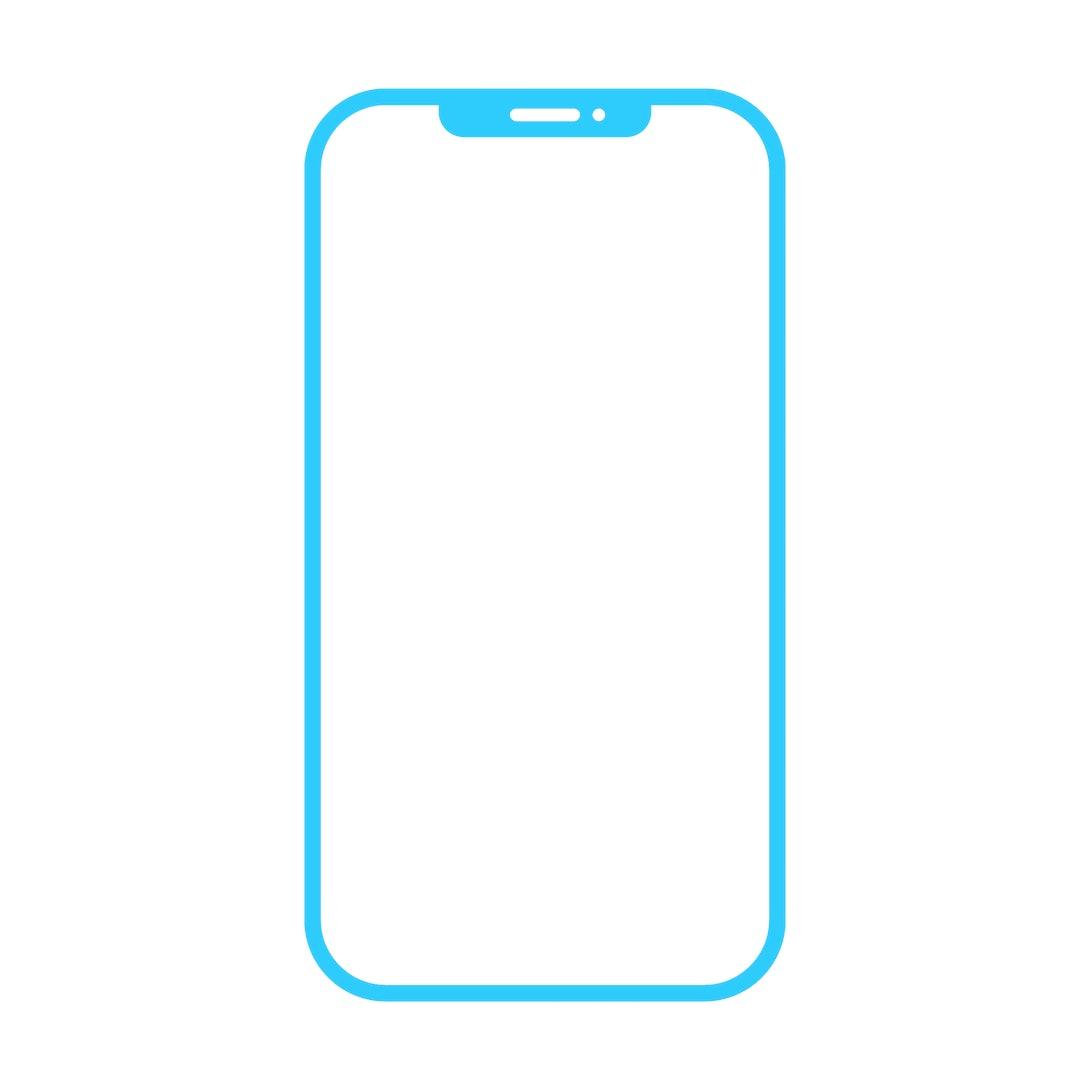 Smartphone icon on white background vector illustration. Flat Icon Mobile Phone, Handphone.