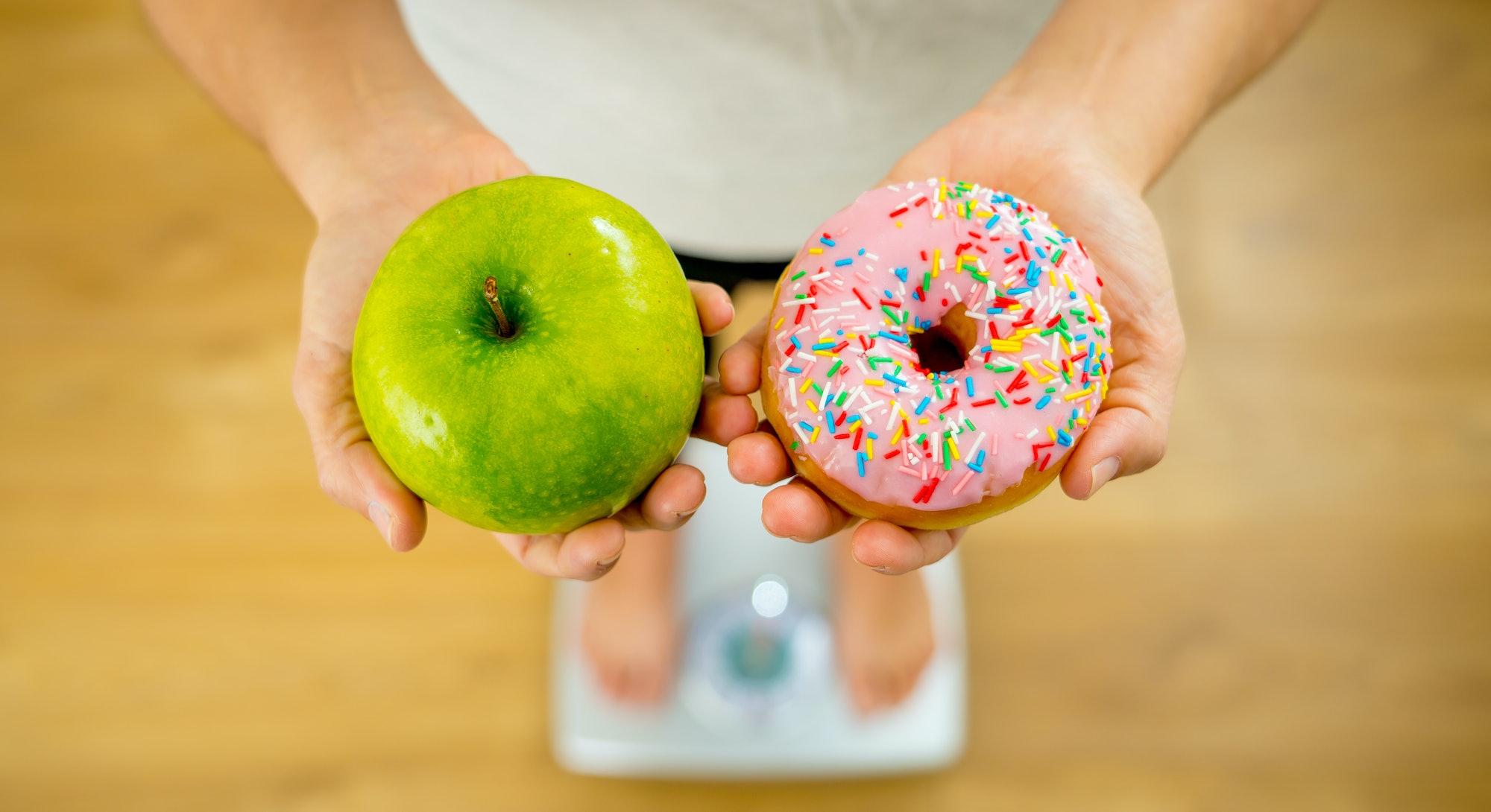 apple doughnut scale resolution