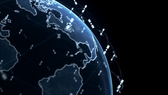 Starlink uses a series of satellites to keep in touch.