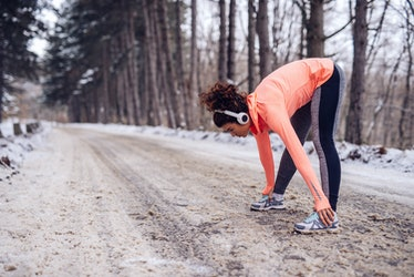 how to stick to a workout routine winter