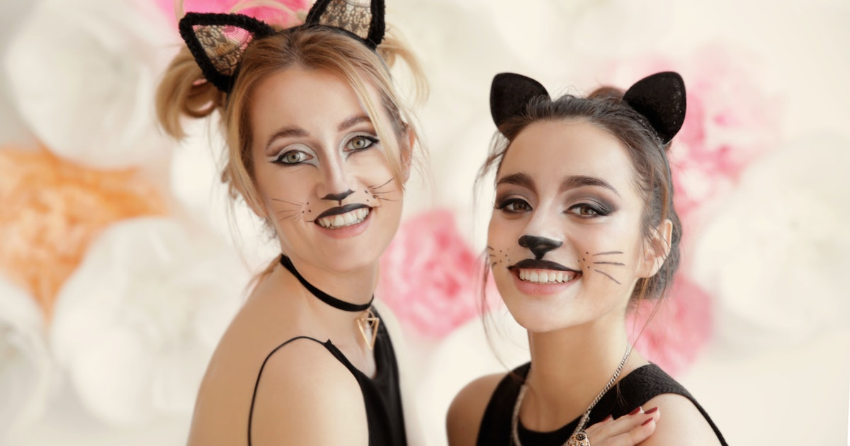 9 Easy Halloween Cat Makeup Tutorials You Need To Bookmark Right Meow