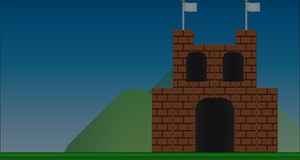 Old video game. retro style Background.
