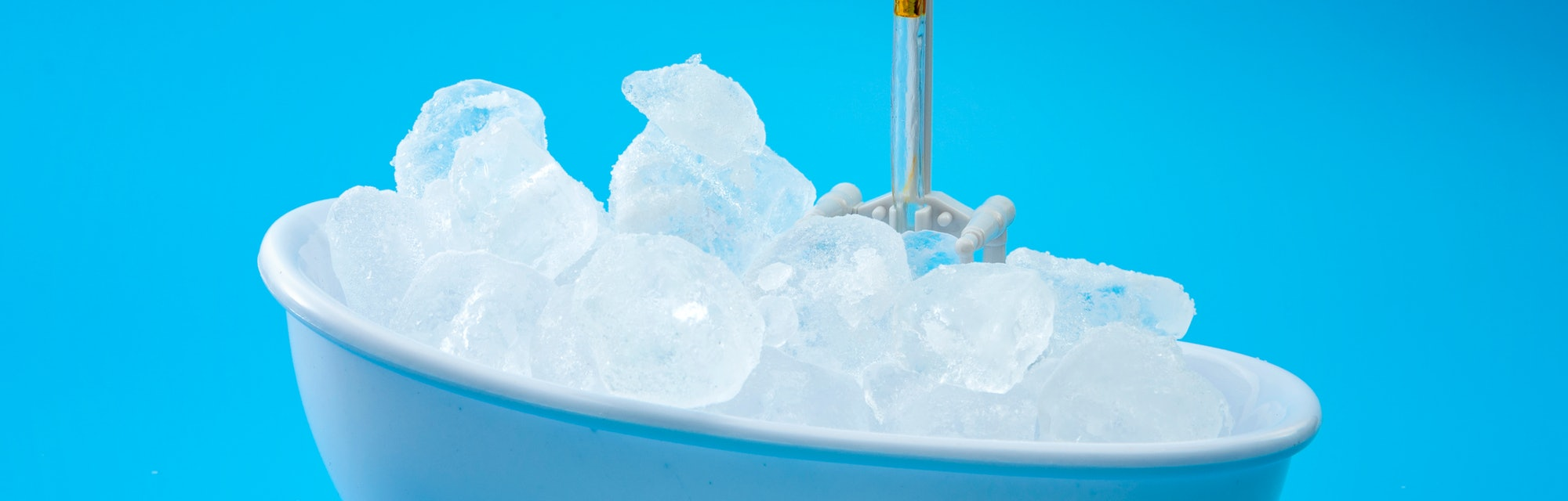 Muscle recovery and healing therapy, performance improvement treatment and extreme cold cryotherapy ...
