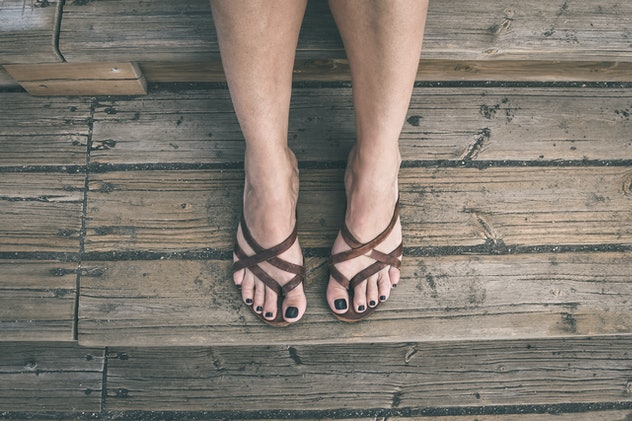 Your diet can impact the hair on your toes.