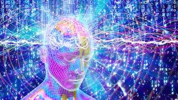 quantum brain colorful
