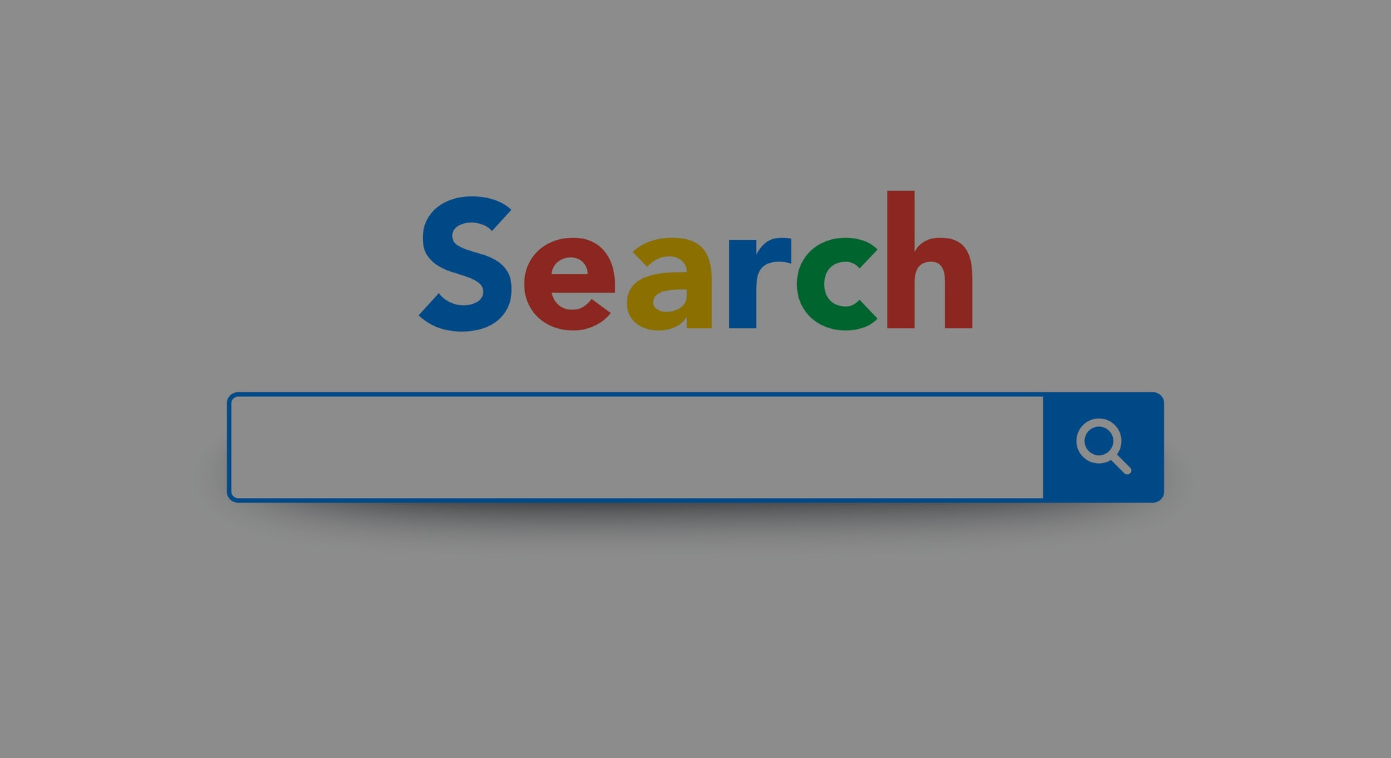 Vector Element Google Search Bar Site, Search Engine Template