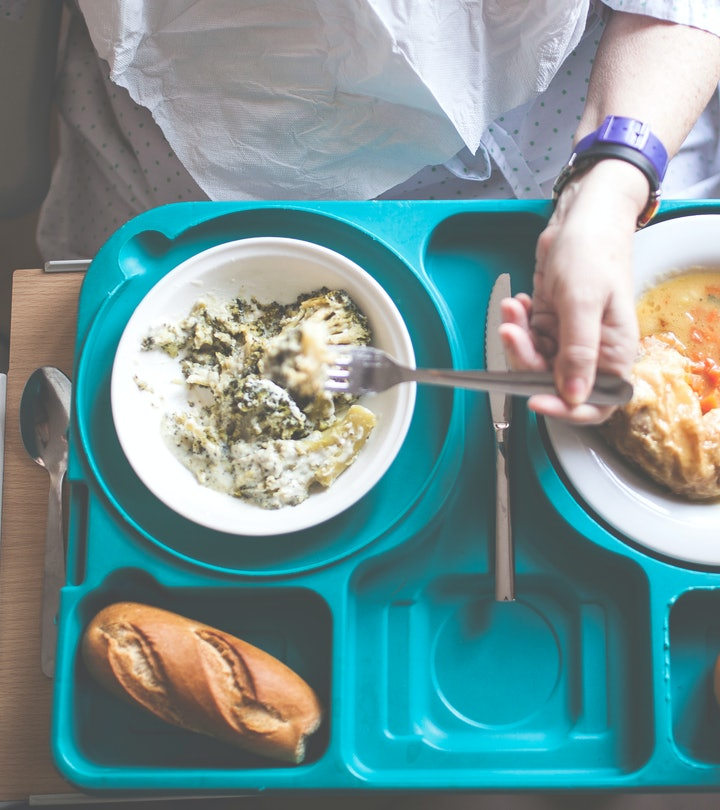 That first meal post-delivery is so memorable for new moms.