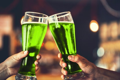 Because this green beer recipe is ridiculously easy, you can whip it up in no time for St. Patrick's Day.