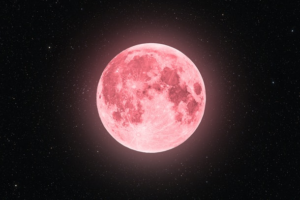 The Emotional Meaning Of The April 2021 Full Super Pink Moon Is About  Resilience