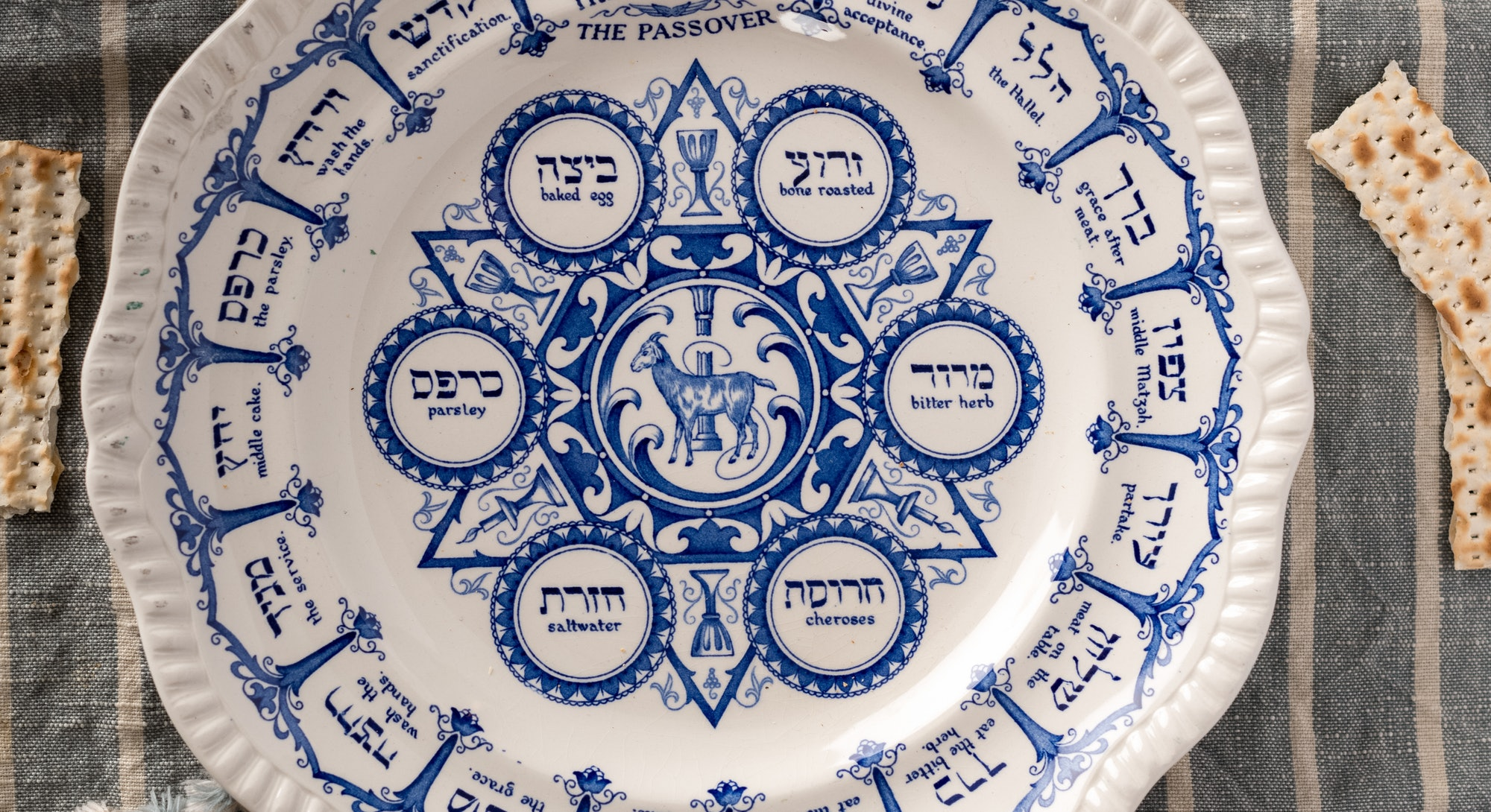 10 Beautiful Seder Plates From Classic To Modern