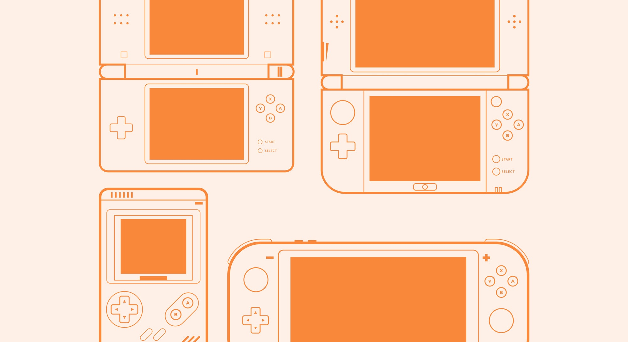 Mobile video console vector illustration.  Nintendo Switch. Android. How to hack Nintendo Switch. An...