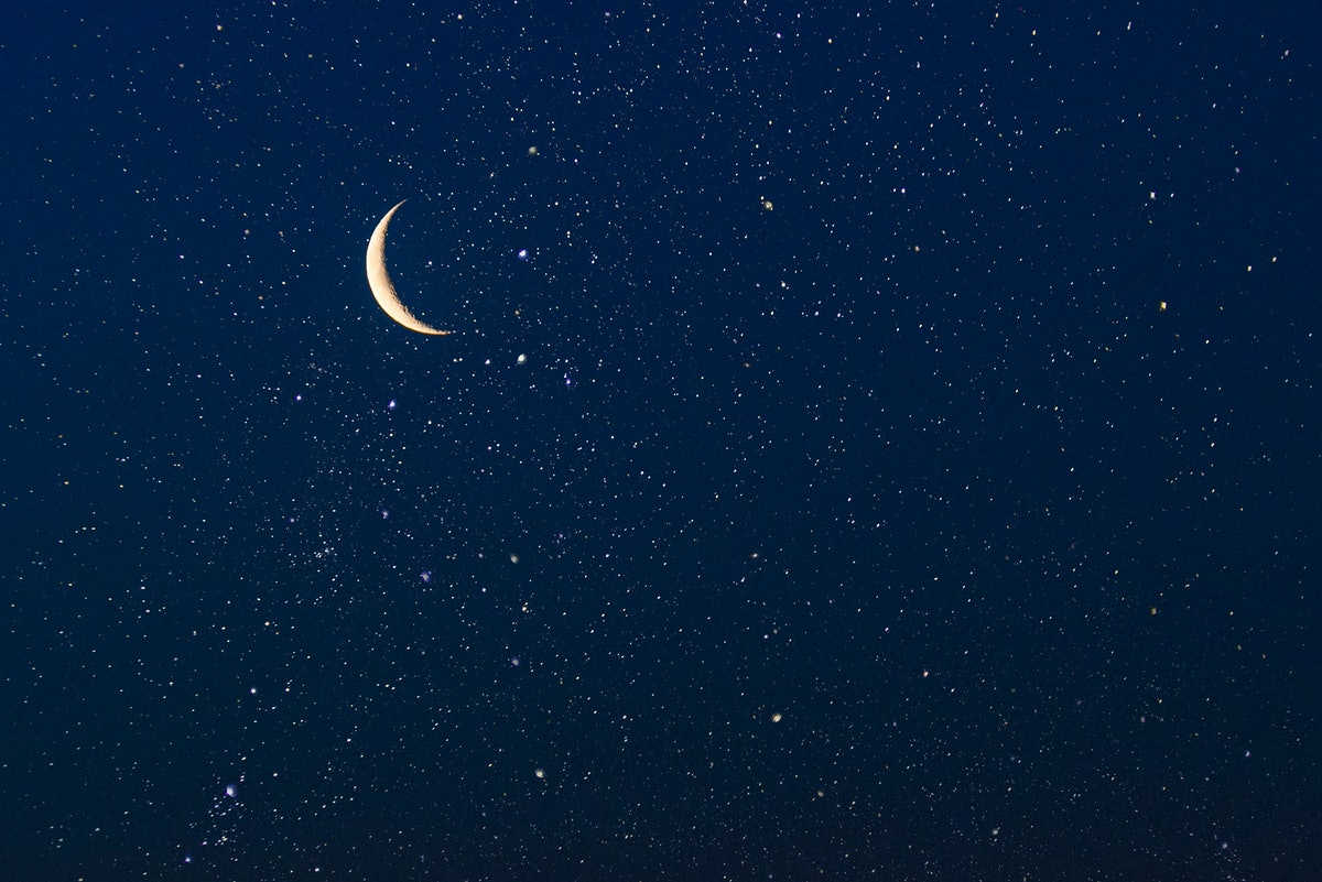 The July 2021 new moon, affecting cardinal zodiac signs the most.