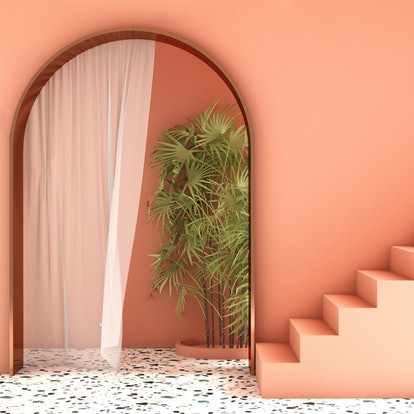 1970s home decor trends like terrazzo are huge for 2021.