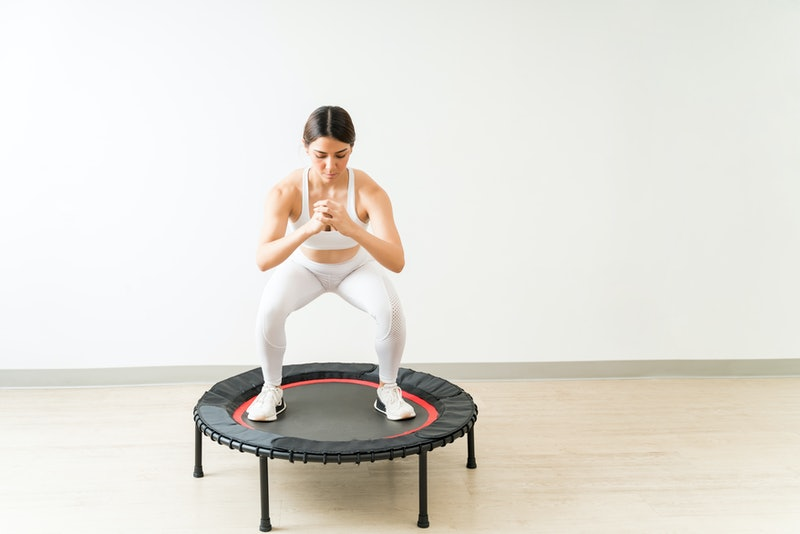 I tried rebounding workouts for a week, and these are my honest thoughts.