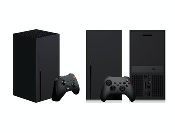 console game element variety vector play next gen controller draft entertain xbsx xbox x box