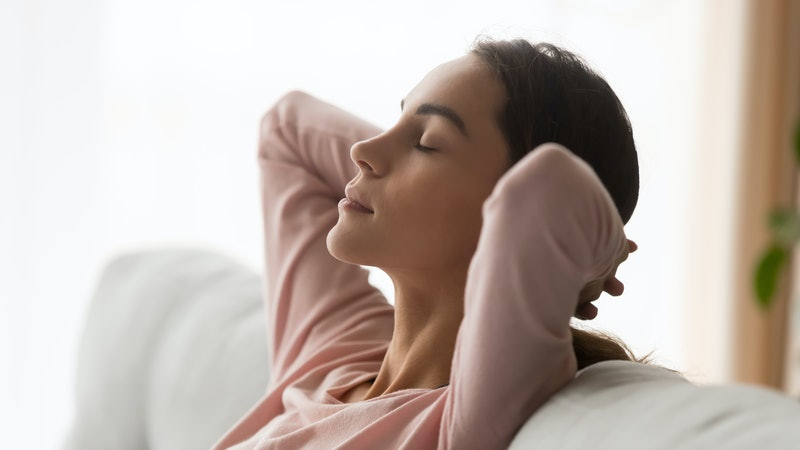 Quell early-morning stress with this mindful breathwork routine.