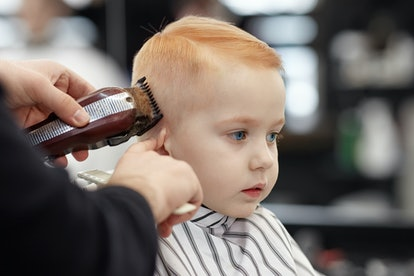 Baby's first haircut can happen when you're ready.