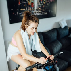 Fitness pros share their top stationary bike motivation tips.