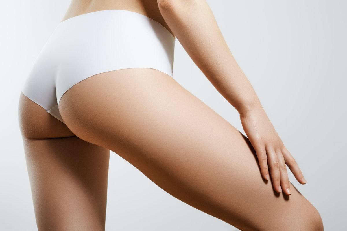 A woman's butt.