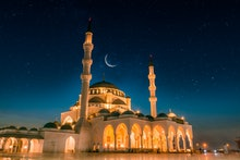 Dubai Tourism and Travel Spot Sharjah New Grand Mosque second largest mosque in Middle east, Beautif...