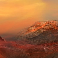 A volcanic eruption on Mars could help us find life on the planet