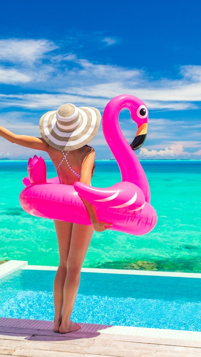 The pool floats for summer 2021 are colorful and super practical.