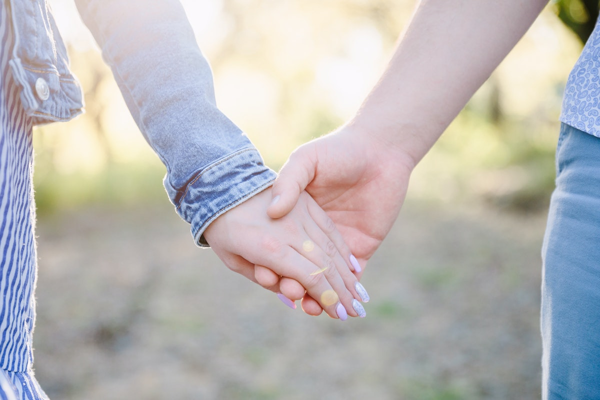 If you're not ready to hold hands on a first date, there's no rush.