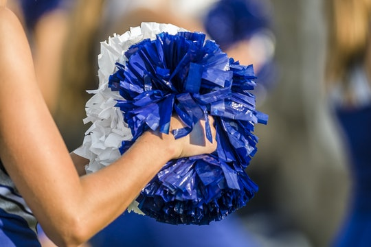 A student with Down Syndrome was cut from the cheer team photograph that appeared in her school's ye...