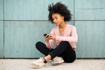 Giving someone space may entail less texting.