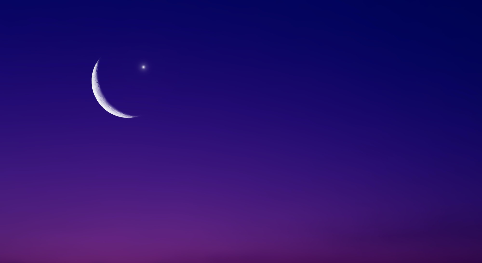 The July 2021 new moon is the first new moon of the summer.