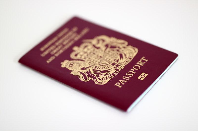 British UK EU Passport