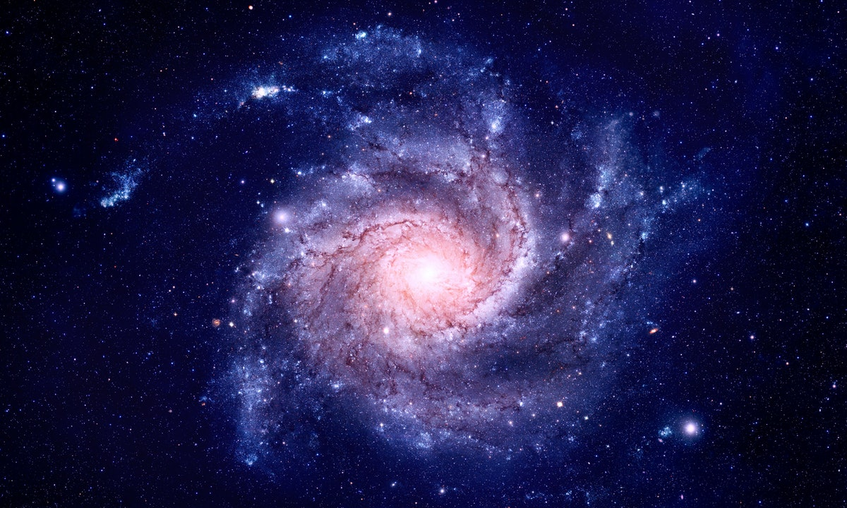 A picture of the galaxy to show the Pluto in Scorpio generation.