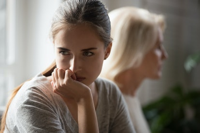 Your mother's behavior may be the cause of your anxiety or depression.