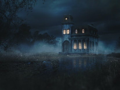 A haunted house is safe for pregnant women as long as you keep your body safe.