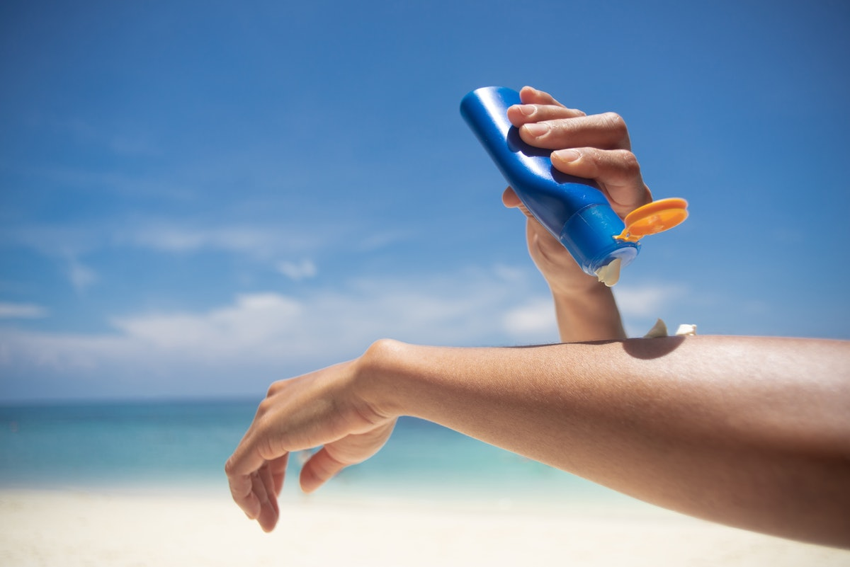 A dermatologist explains the Johnson & Johnson sunscreen recall and how to know if your sunscreen is...