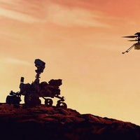 """Look: Mars helicopter 10th flight sets a new """"aerial record"""""""