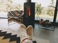 Use one of these Instagram captions for your fireplace photos.