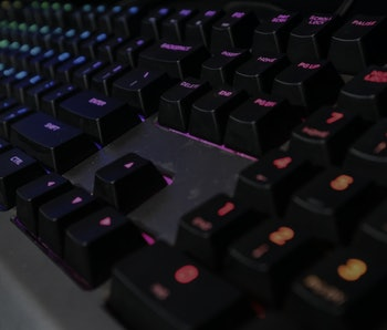 Colourful Keyboard For Gaming.