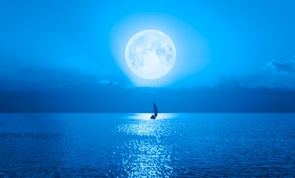 The spiritual meaning of the full blue moon is about embracing authenticity.