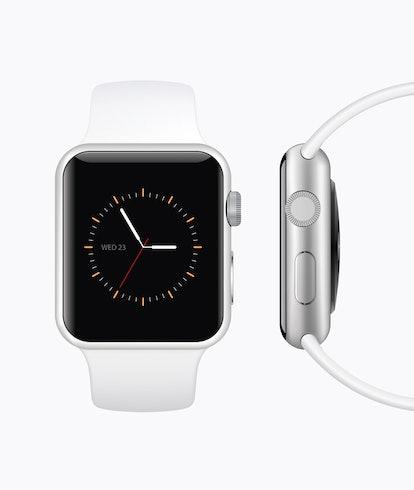 Modern smart watch mockup