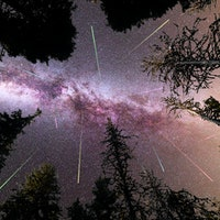 A volatile element may explain a weird asteroid and a glorious meteor shower