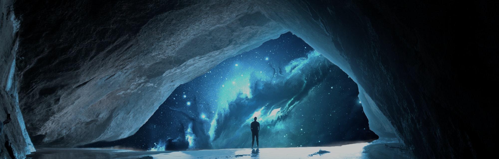 Ancient Places Backgrounds - Space Cavern