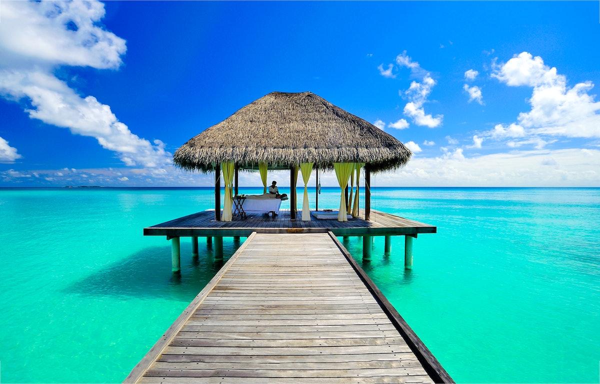 Maldives new years eve