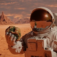 Look: Future colonies on Mars could be made from human blood